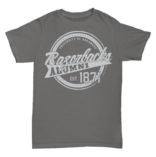 Arkansas Razorbacks Alumni MV Sport Short Sleeve Tee