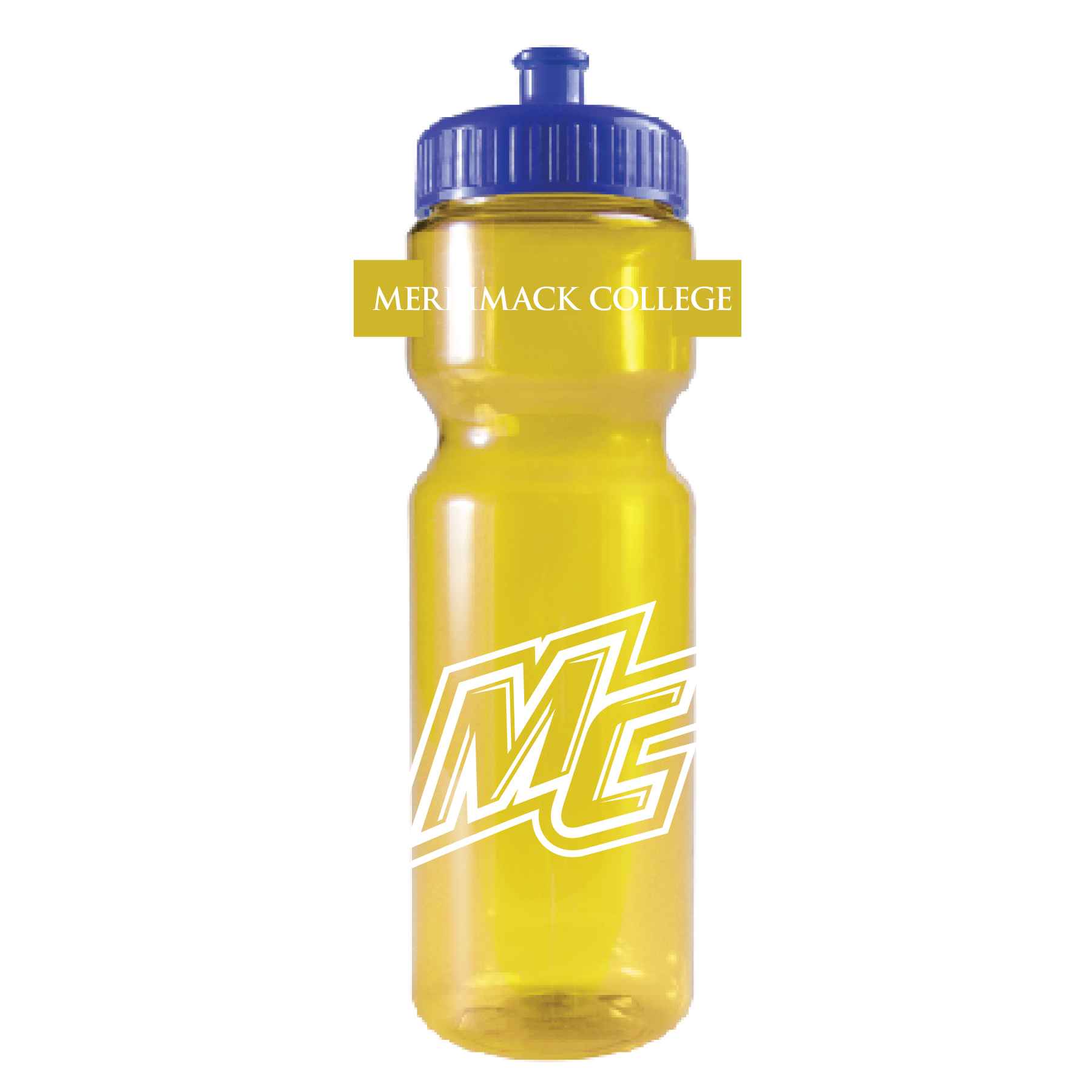 Squirt Yellow/Blue Water Bottle