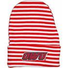 Image for the Newborn Red/White Stripe Knitcap product