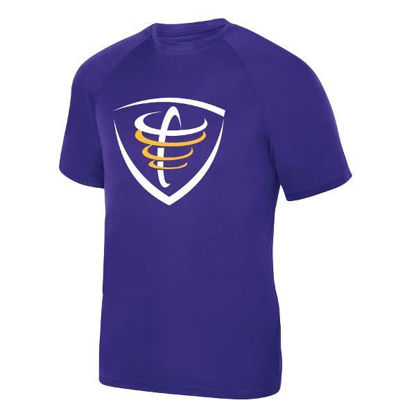 Athletic Tee - Purple