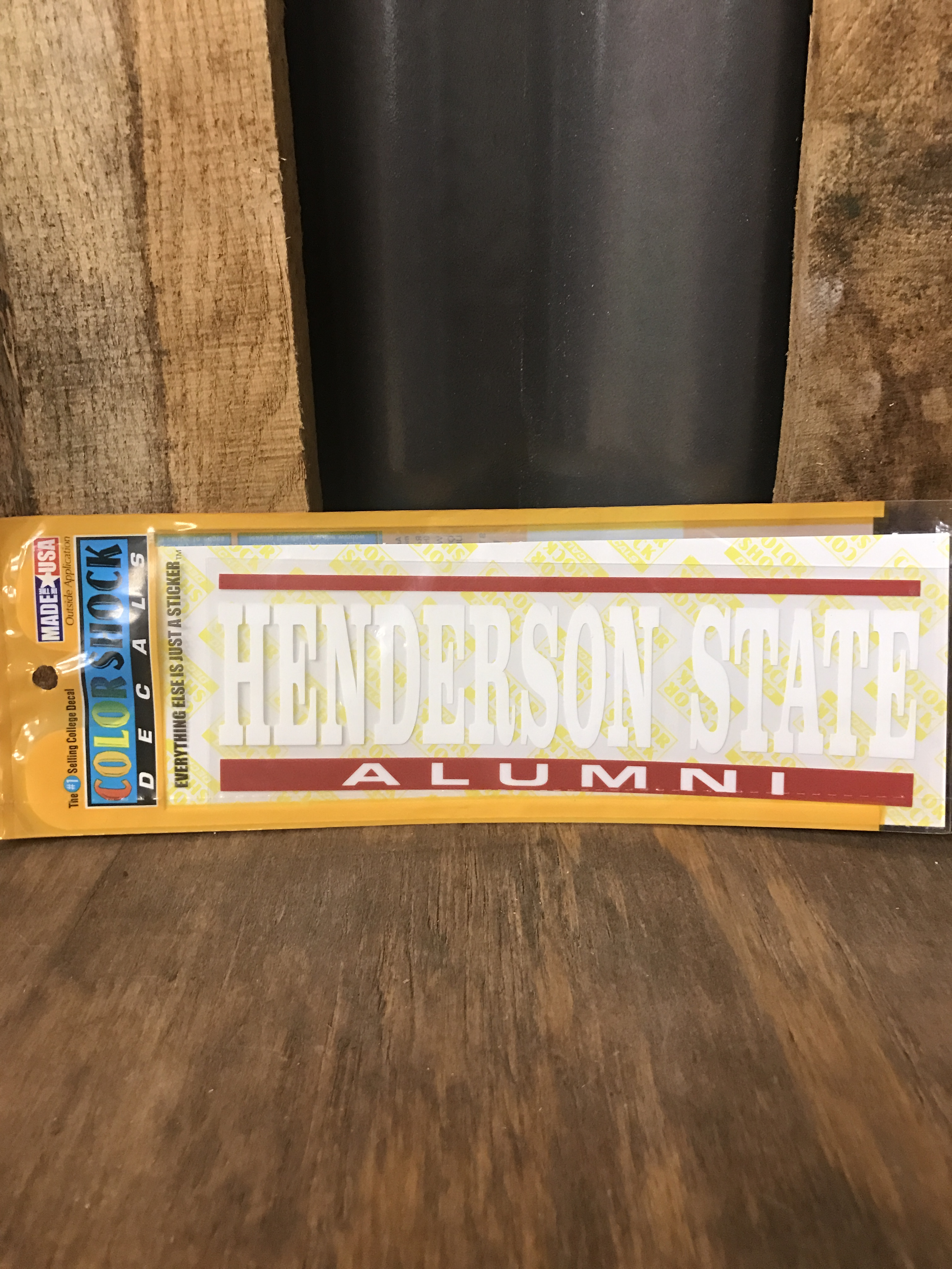 image of: HENDERSON STATE ALUMNI CAR DECAL
