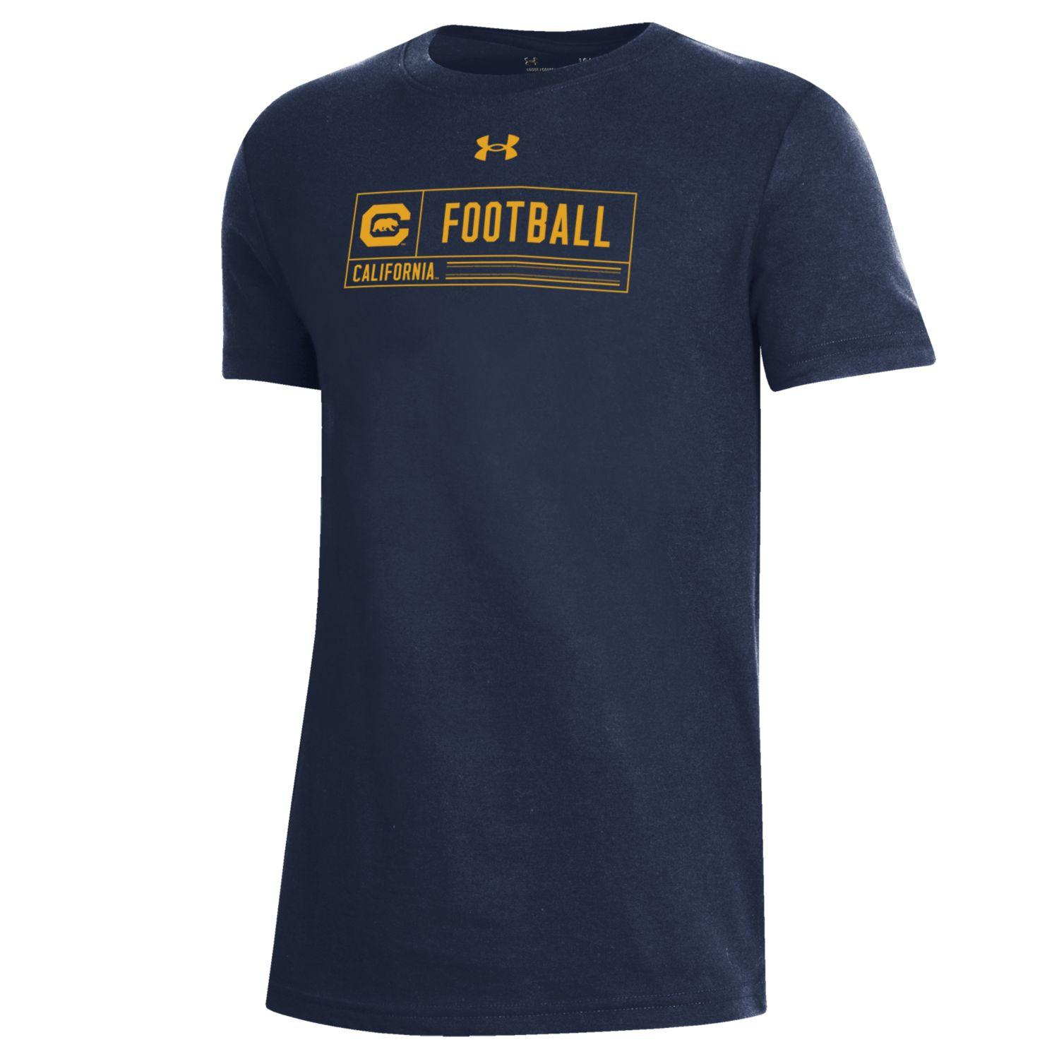 Youth B Performance Cotton SS Tee Football