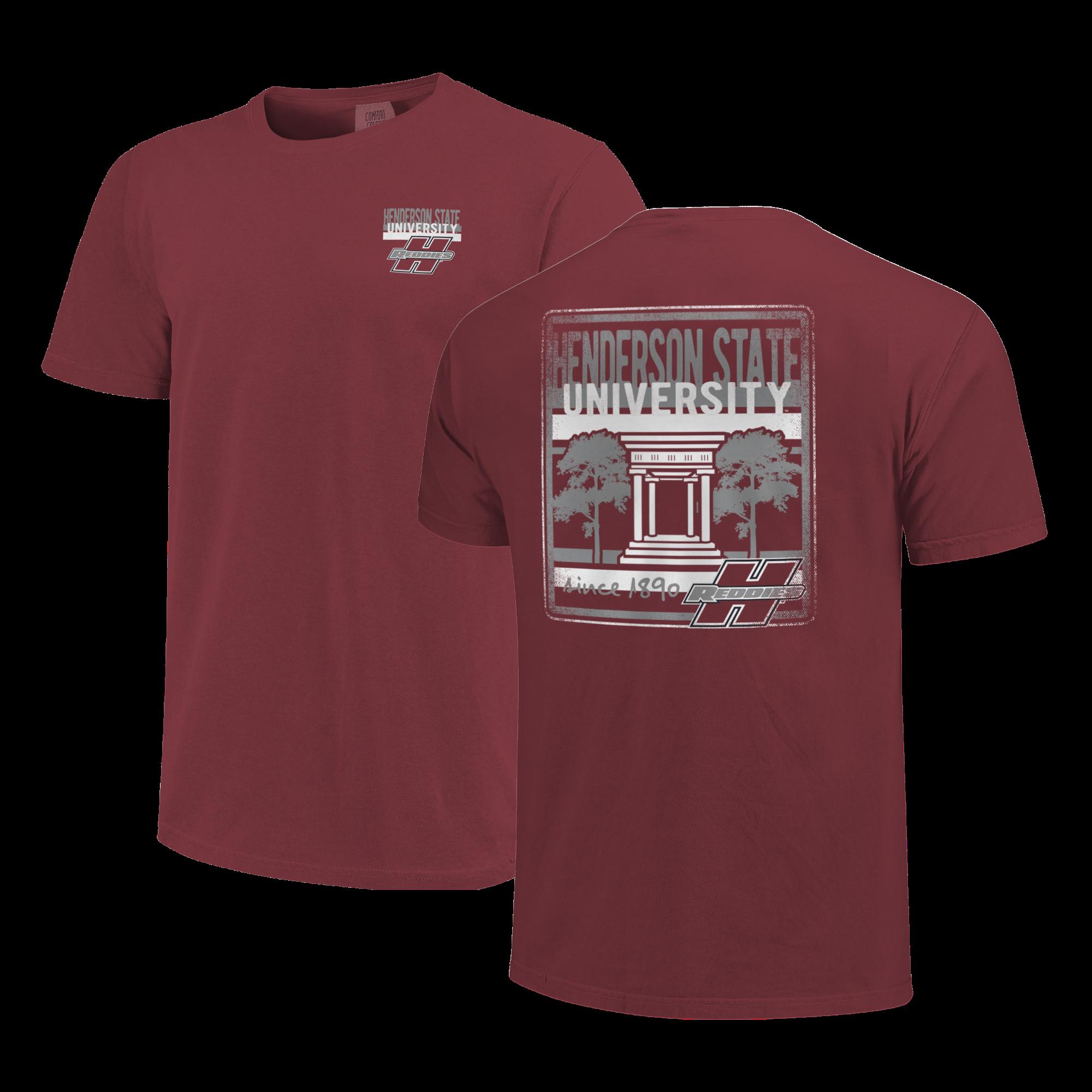 image of: HSU Centurium & Stripes Short Sleeve T-Shirt