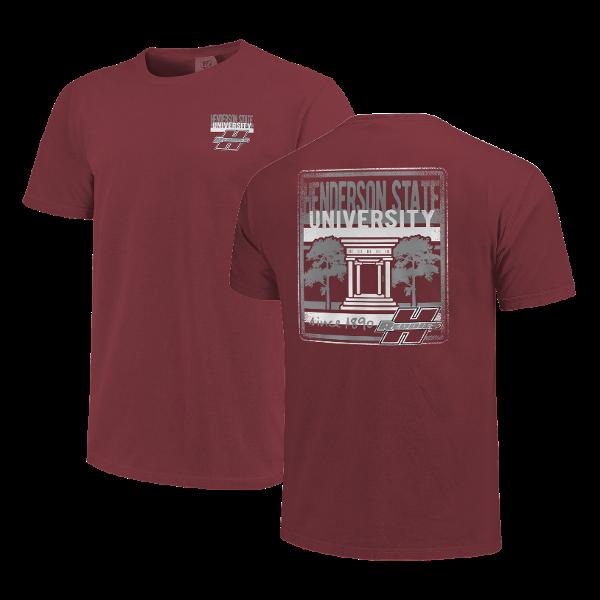 HSU Centurium & Stripes Short Sleeve T-Shirt