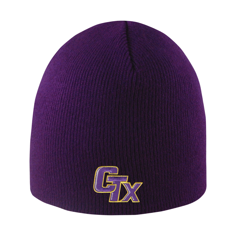 Everest Knit Beanie - Purple