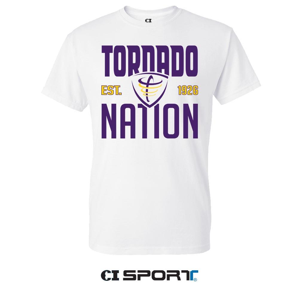 Tornado Nation Tee - White