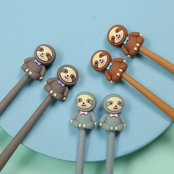 bcmini Sloth Wiggle Gel Pen Assorted