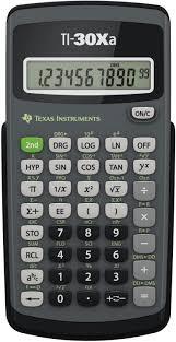 image of: Texas Instruments TI-30Xa