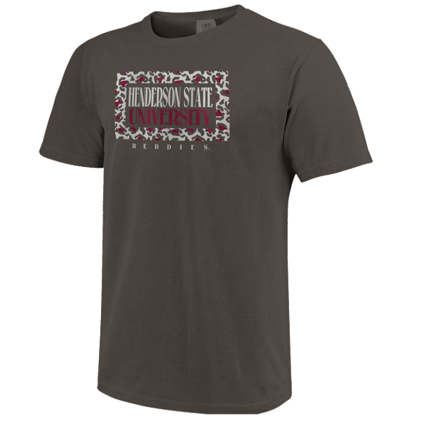 HSU Reddies Framed Pattern Short Sleeve T-Shirt