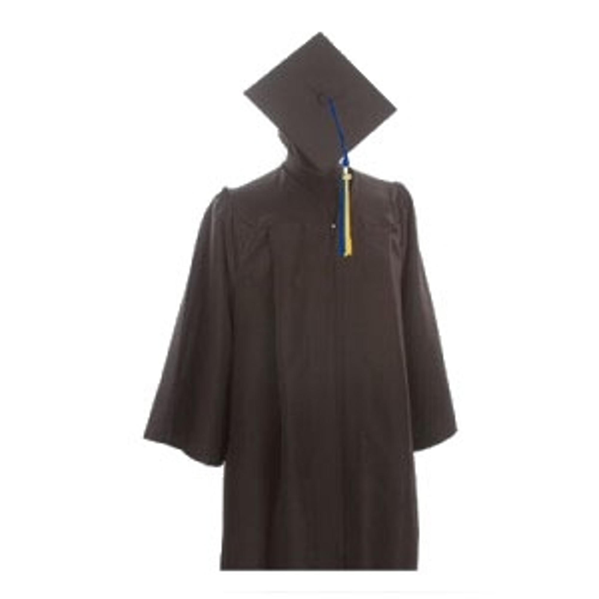 image of: Bachelor Keeper Gown, Cap & Tassel