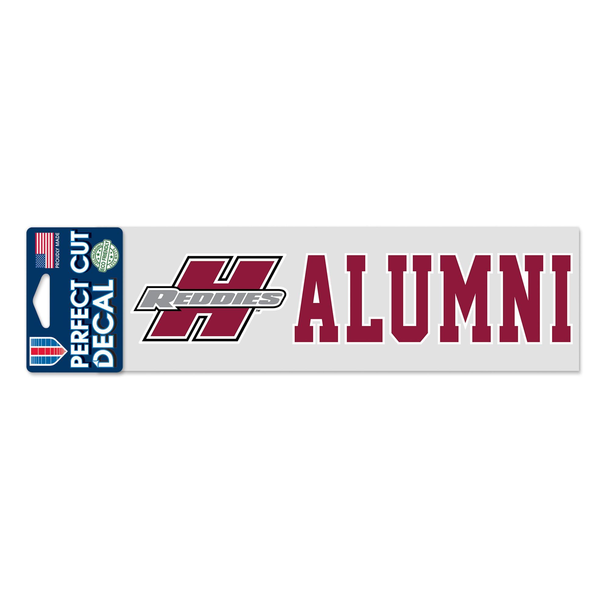 """image of: Henderson Reddies 3"""" x 10"""" Alumni Decal"""