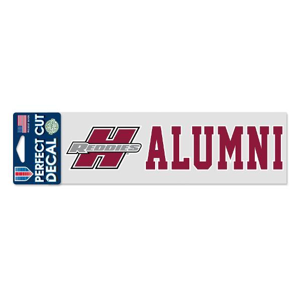"Henderson Reddies 3"" x 10"" Alumni Decal"