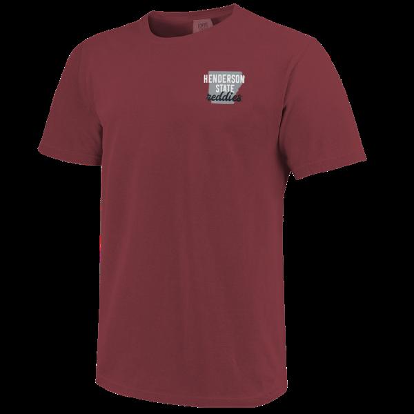Henderson State Reddies All Type State Short Sleeve T-Shirt