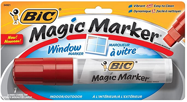 MAGIC RED WINDOW MARKER