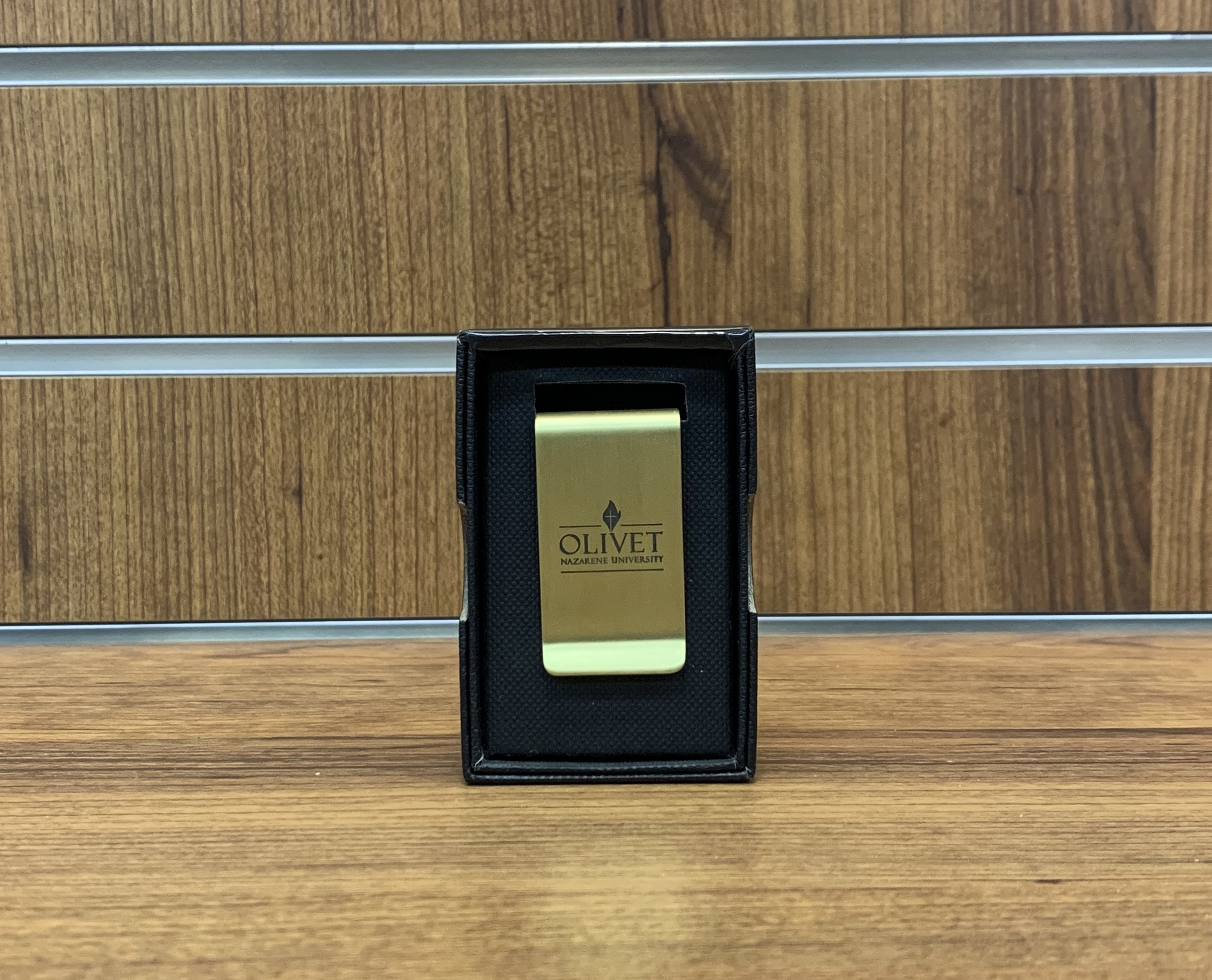 image of: Brass money clip