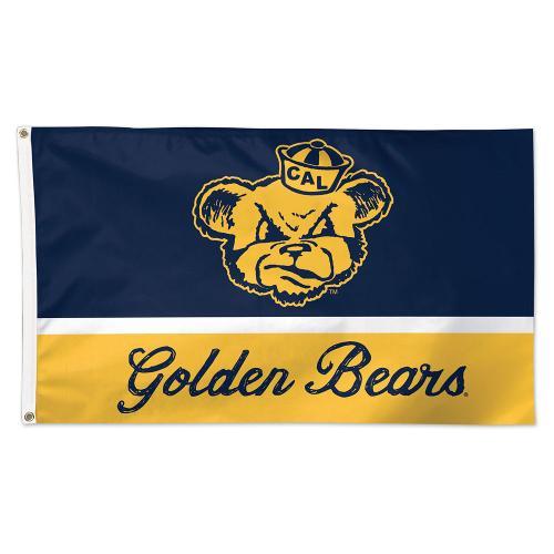 Cal Bears Vintage Oski Flag - Deluxe 3x5