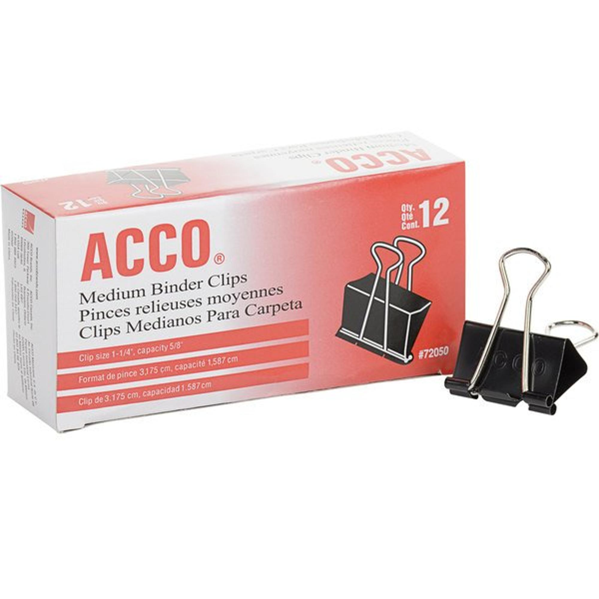 image of: ACCO Medium Binder Clips