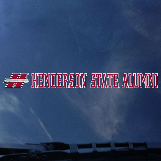 image of: Henderson State Alumni Decal