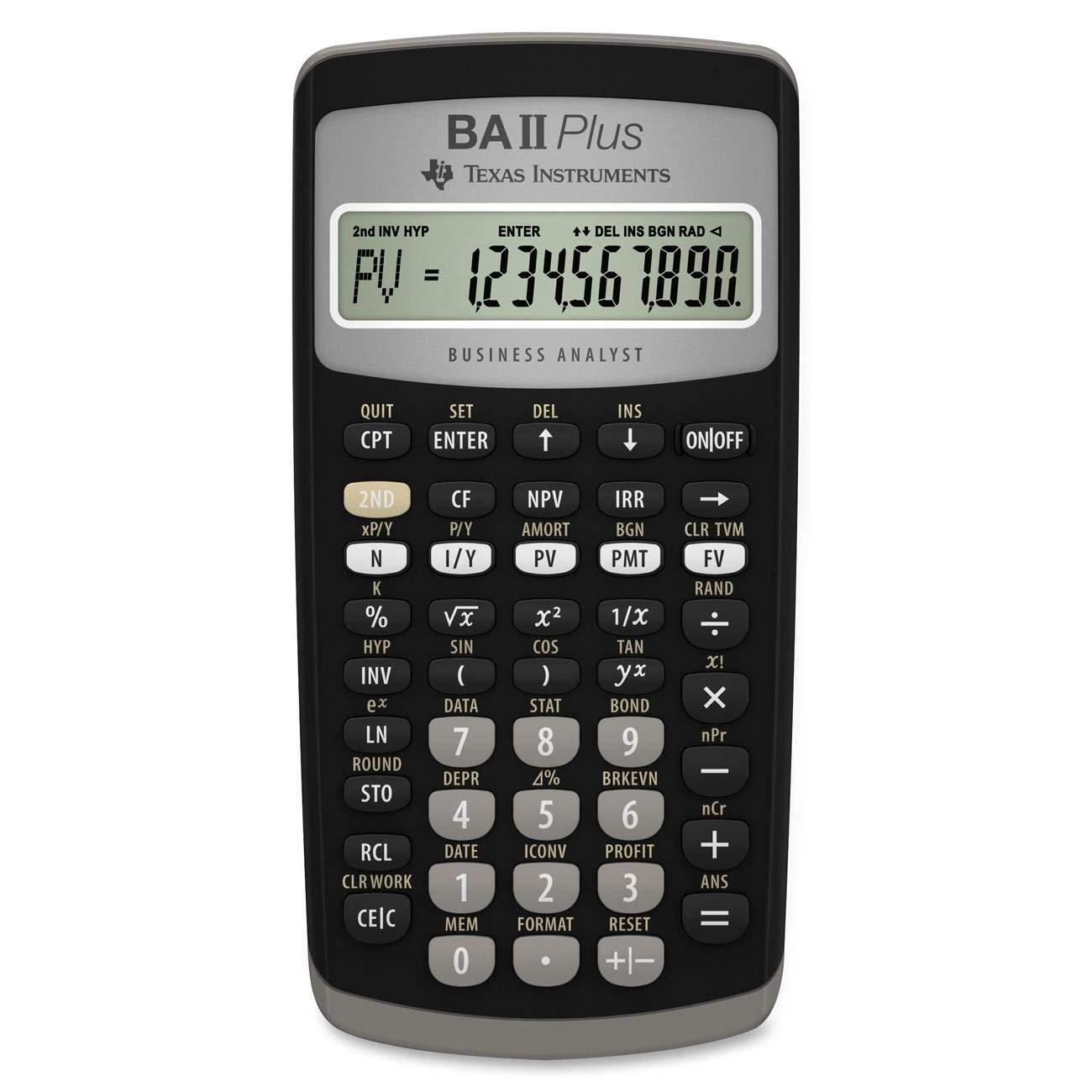 BA II Plus Calculator- 033317071784