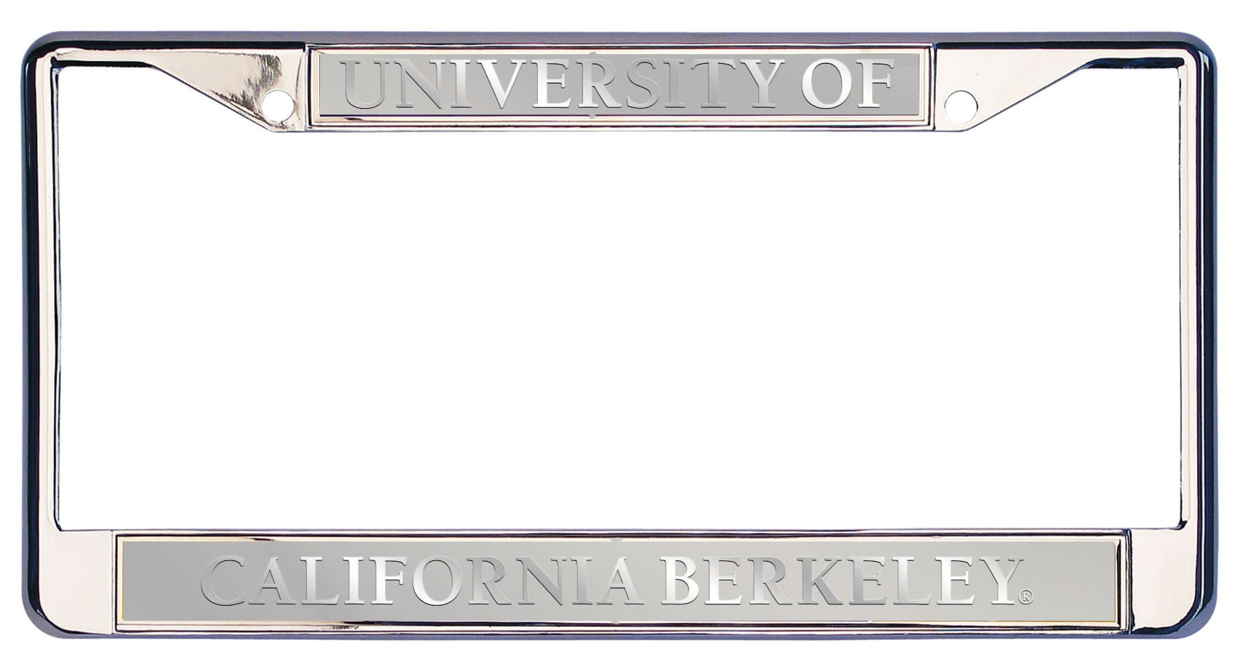 License Plate Executive Frame