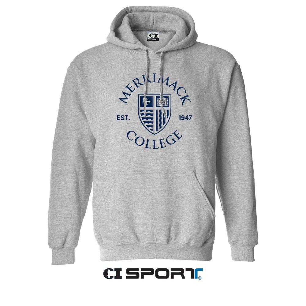 CI Sport Ash Grey EMB Hoodie