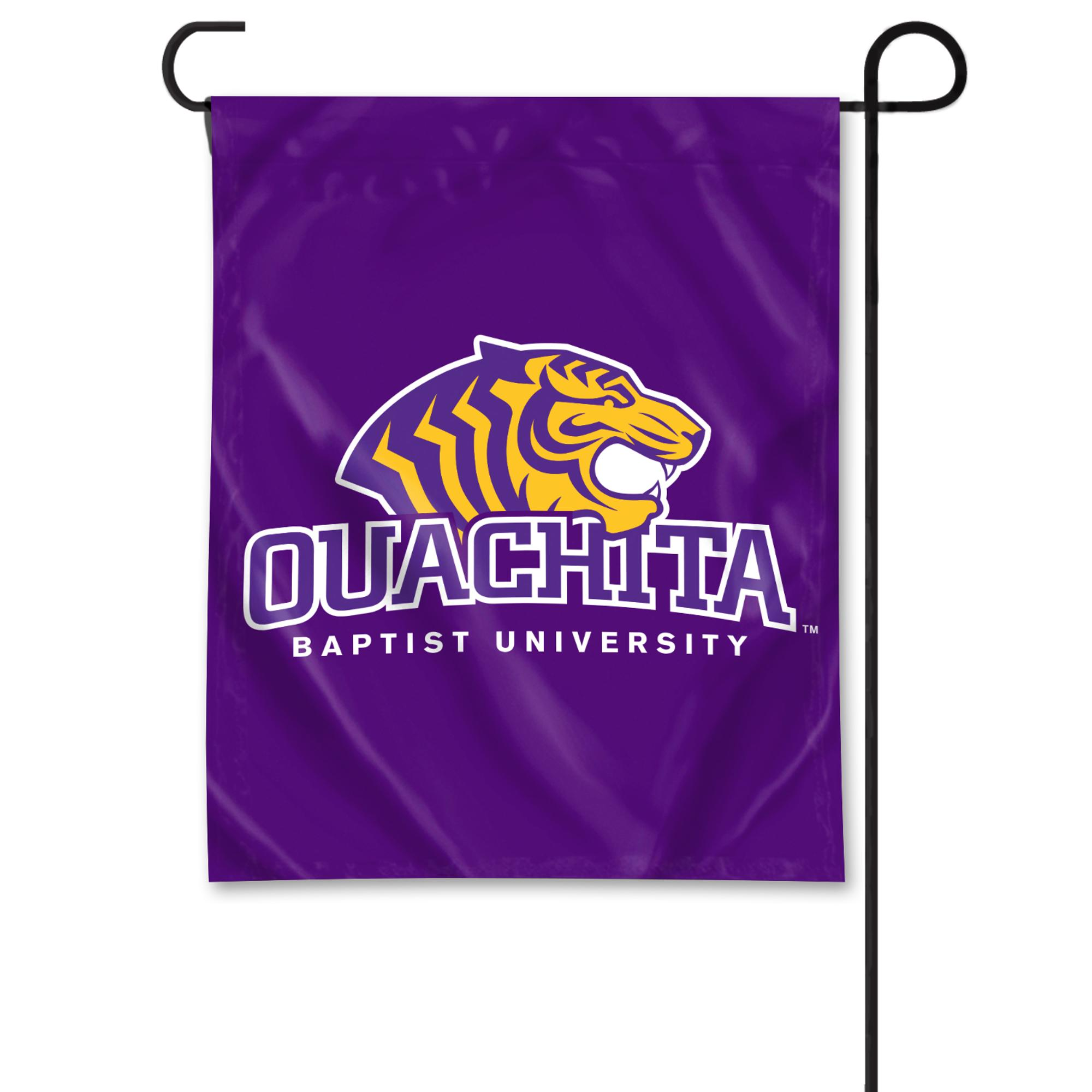 image of: OUACHITA BAPTIST UNIVERSITY GARDEN FLAG