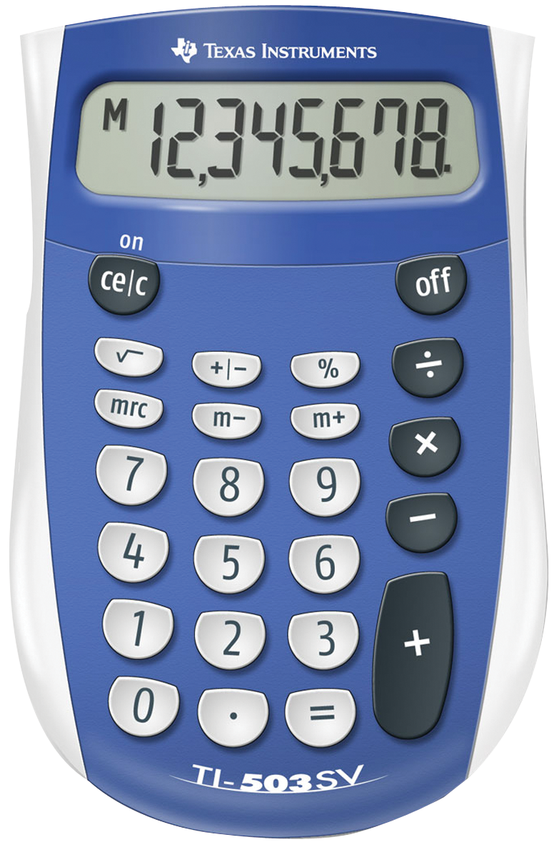TI-503 SV Calculator- 033317066056