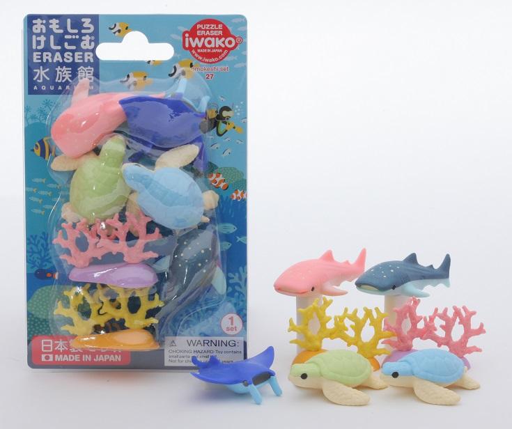 BCMini Iwako Aquarium Eraser
