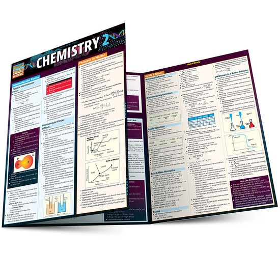Cover image for CHEMISTRY 2 LAMINATED STUDY GUIDE