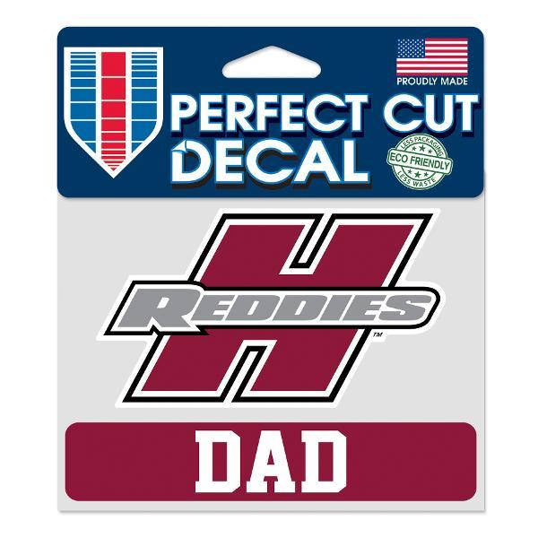 "Henderson Reddies 4"" x 5"" Dad Perfect Cut Decal"