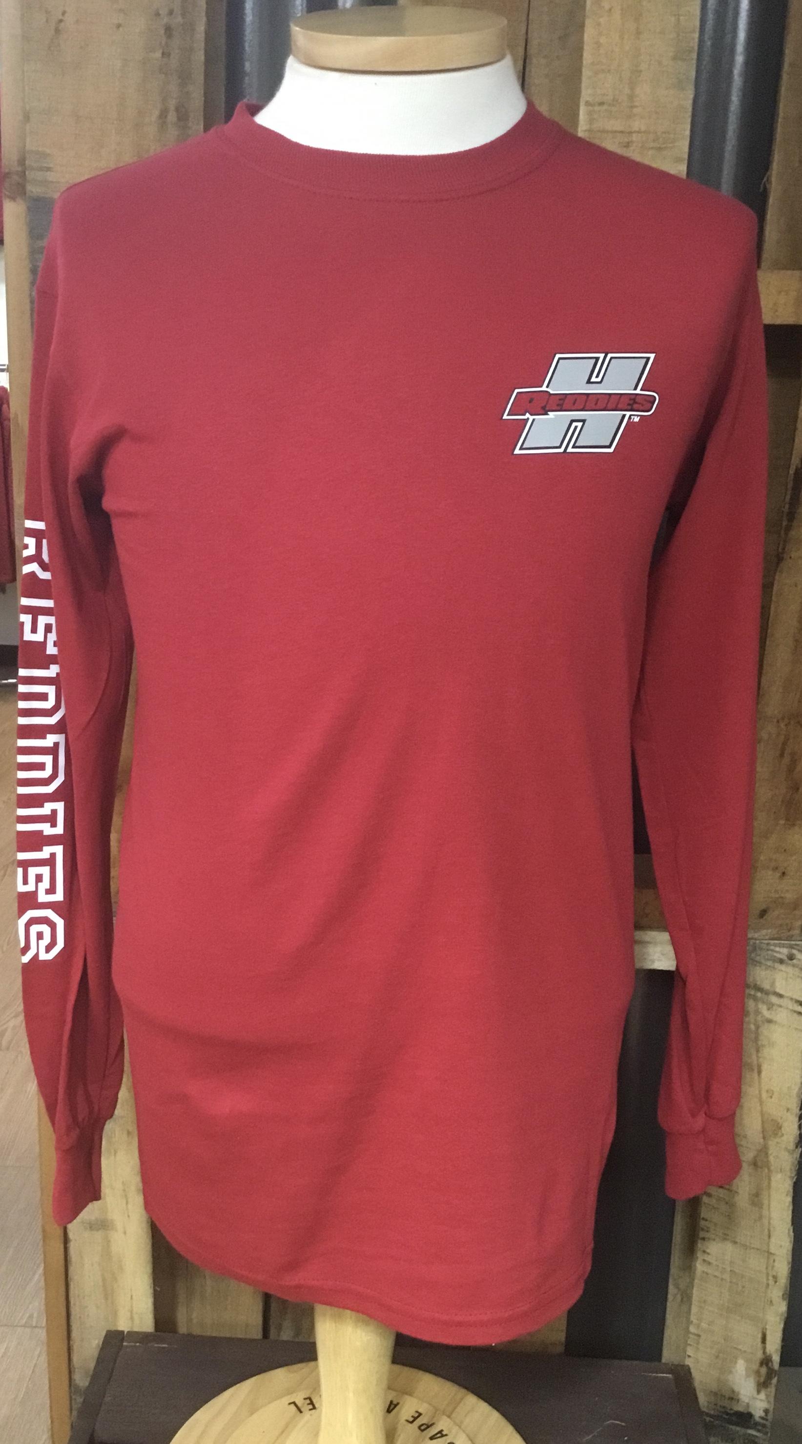 image of: Henderson Reddies Long Sleeve TShirt