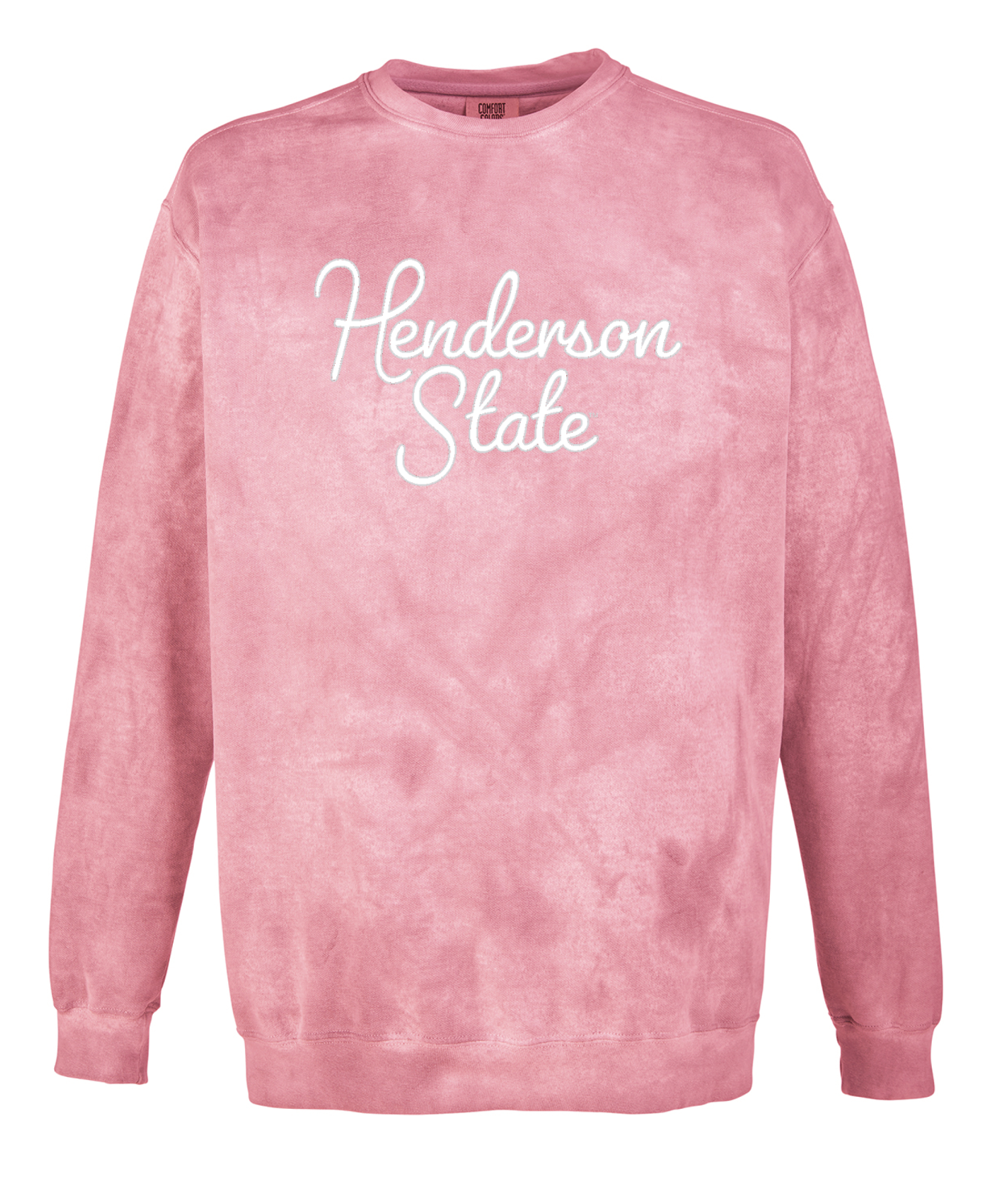 image of: Henderson State Comfort Colors Color Blast Crew Neck Sweatshirt