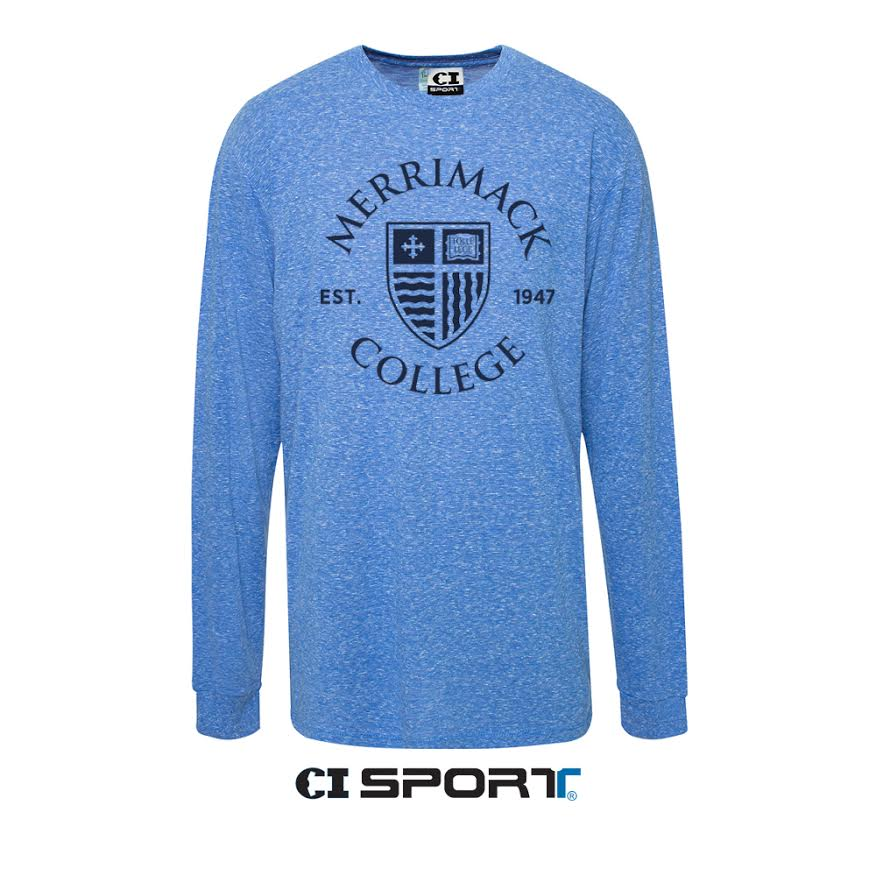 MC Shield Royal Heather Long Sleeve