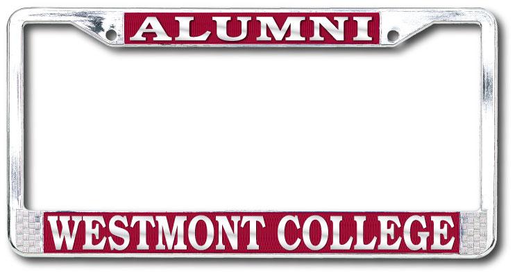 image of: Alumni Westmont College License Plate Frame