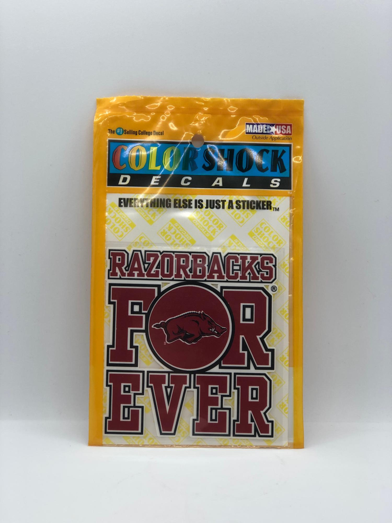 image of: Razorbacks Forever Decal
