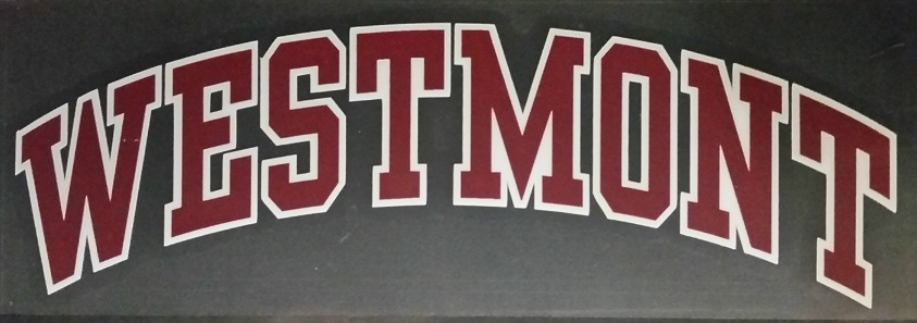 image of: Westmont Decal