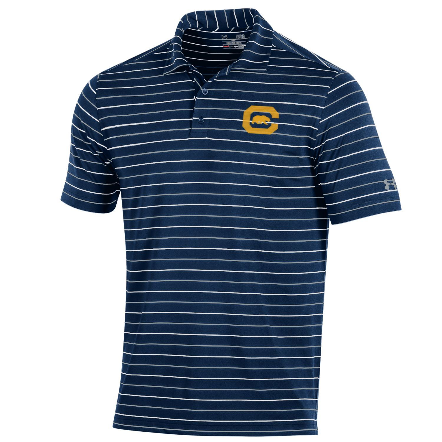 image of: MD25-M Performance Stripe 2.0 Polo