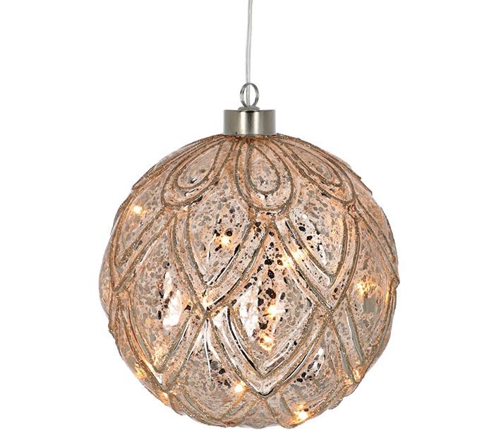 "image of: Ornament 6"" Round Geometric"