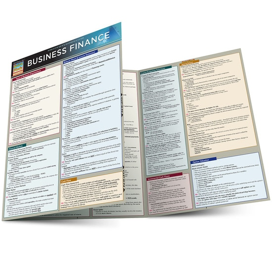BUSINESS FINANCE LAMINATED STUDY GUIDE