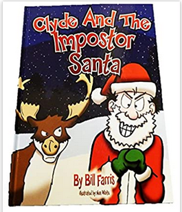 image of: Clyde And The Impostor Santa