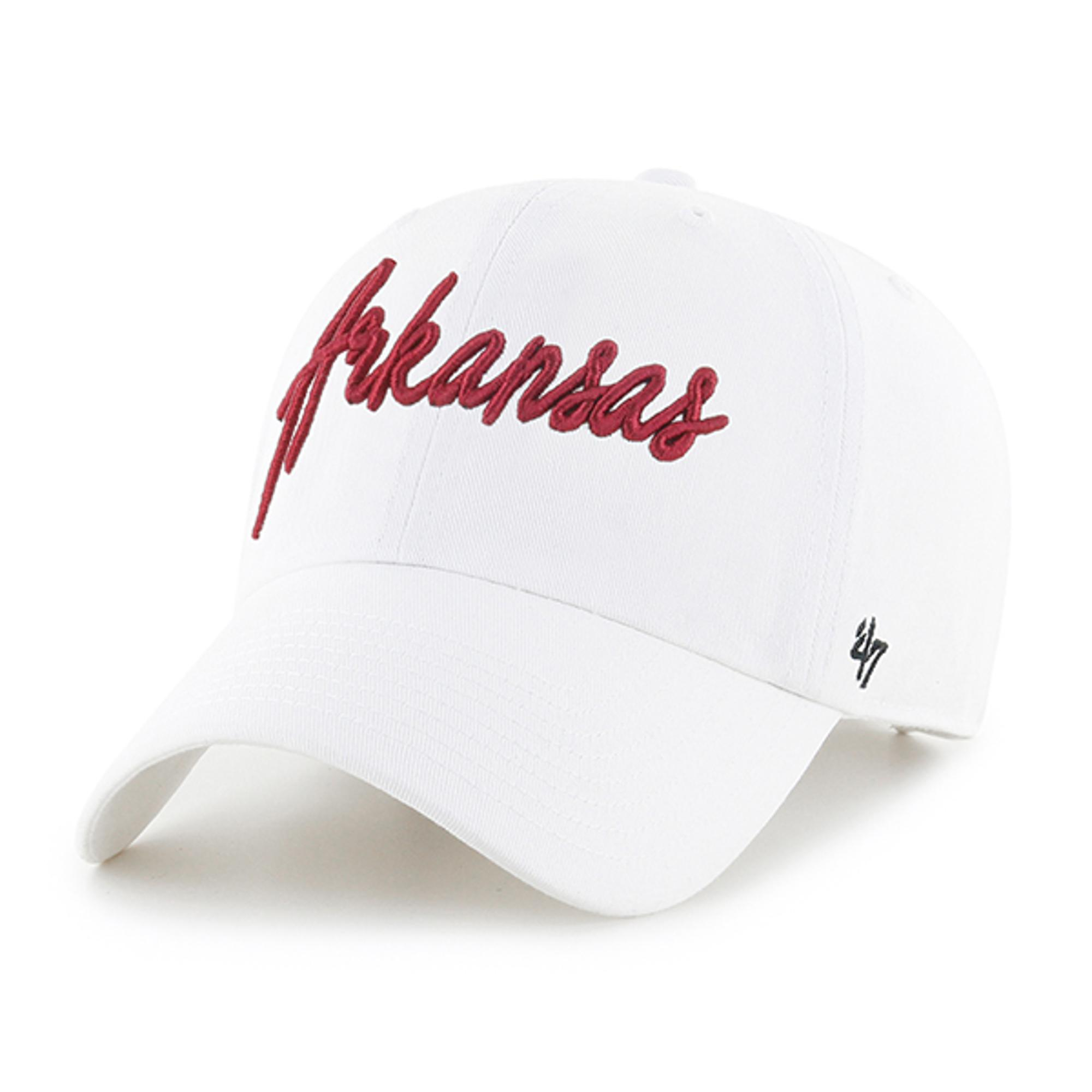 Image for Arkansas Razorbacks Women's '47 Lyric Clean Up Hat