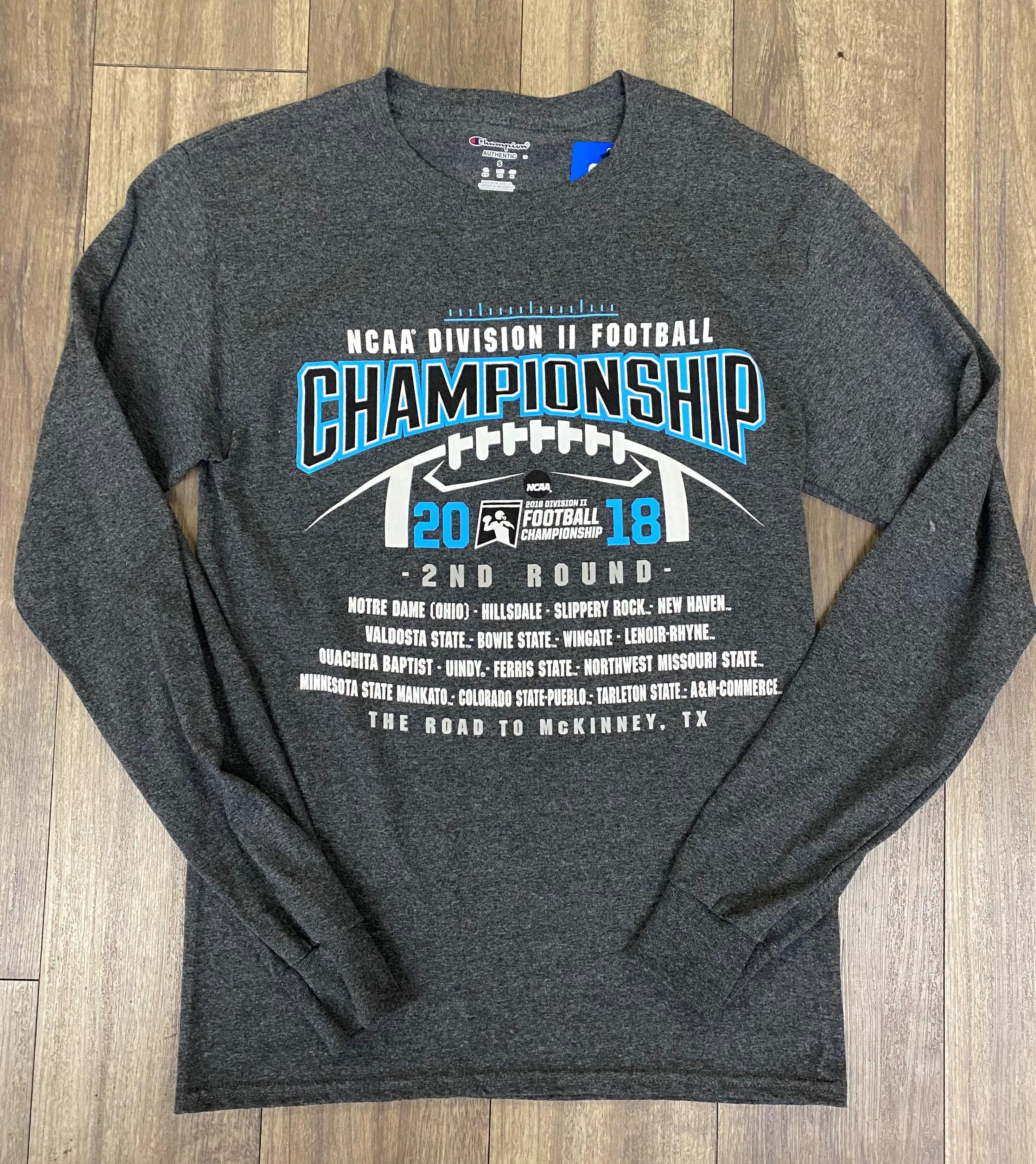 image of: NCAA 2018 D2 CHAMPIONSHIP LS TEE