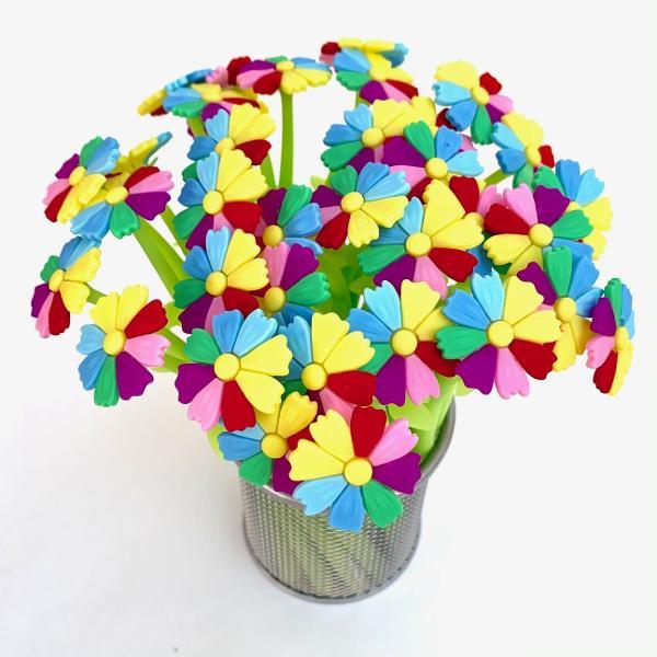 bcmini Lucky Rainbow Flower Gel Pen