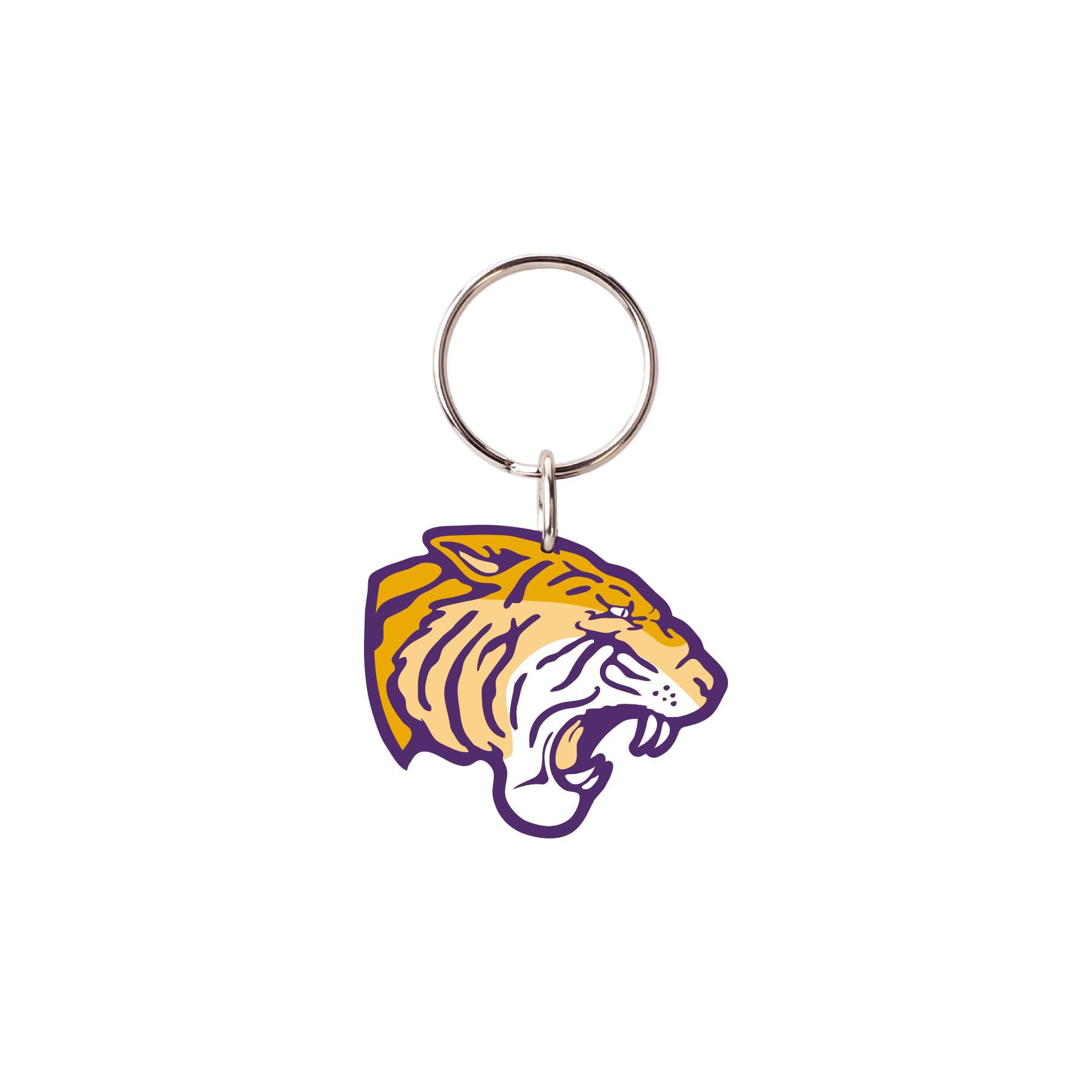 image of: Tiger Head Keychain