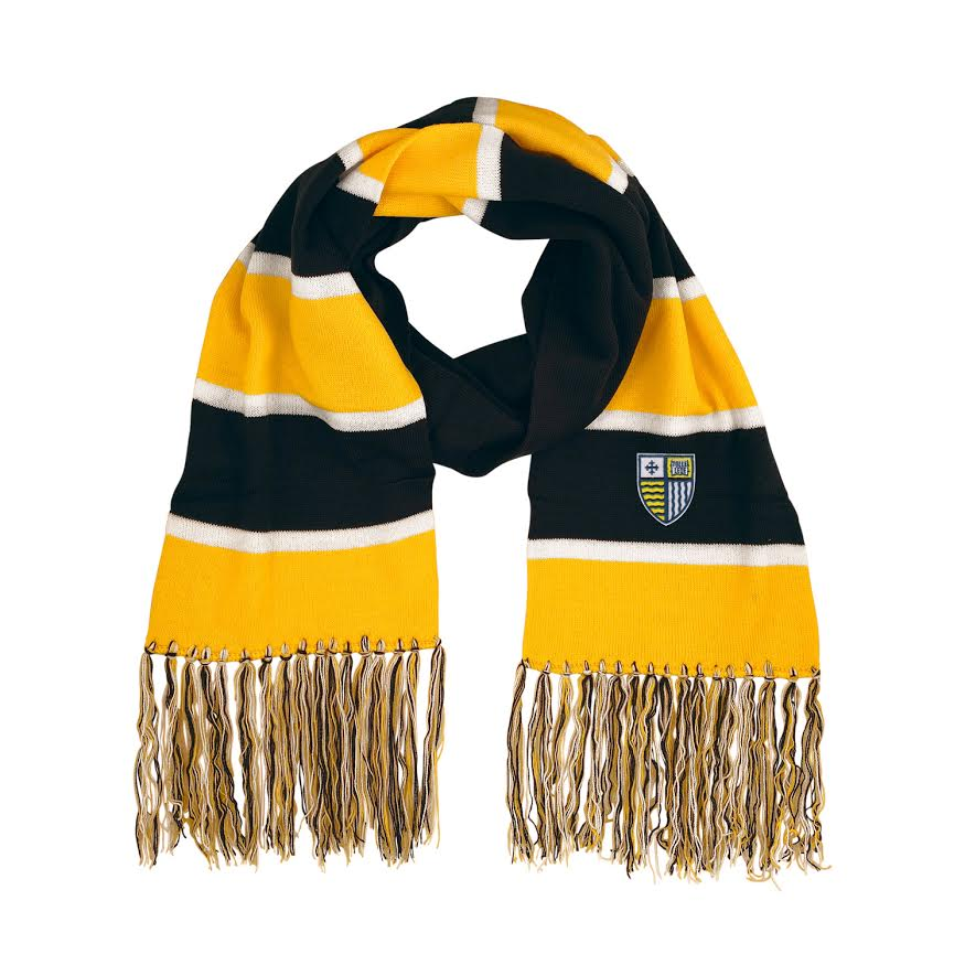image of: MC Lightweight 3-Color Striped Scarf