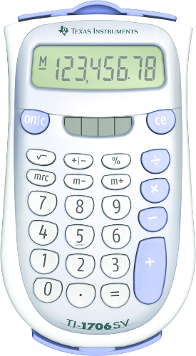 1706 SV Basic Calculator Silver