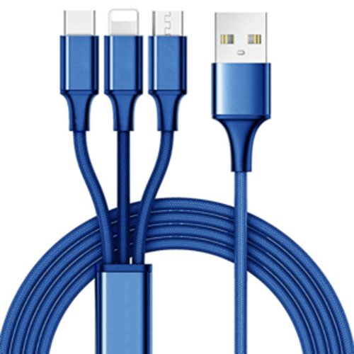 10 Foot 3-in-1 Multi Charging Cable