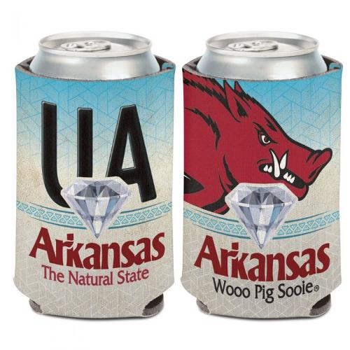 Arkansas Razorbacks Wincraft Natural State Koozie