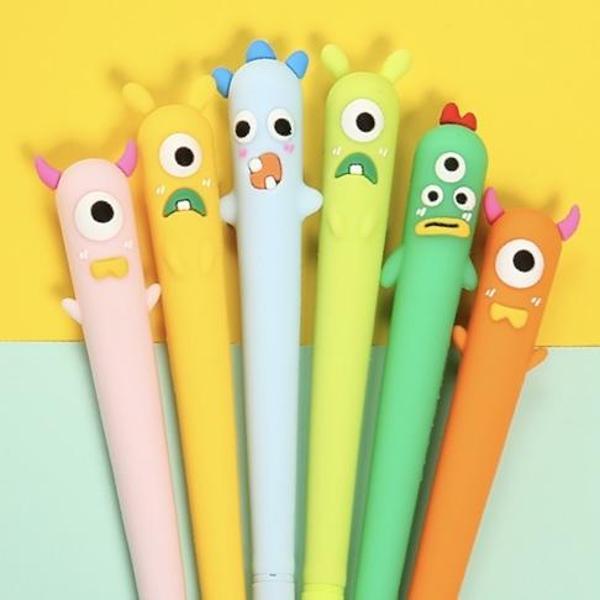 bcmini Little Monsters Gel Pen Assorted