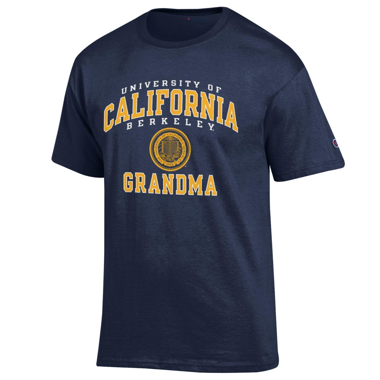 image of: Tee Cal Bears Grandma